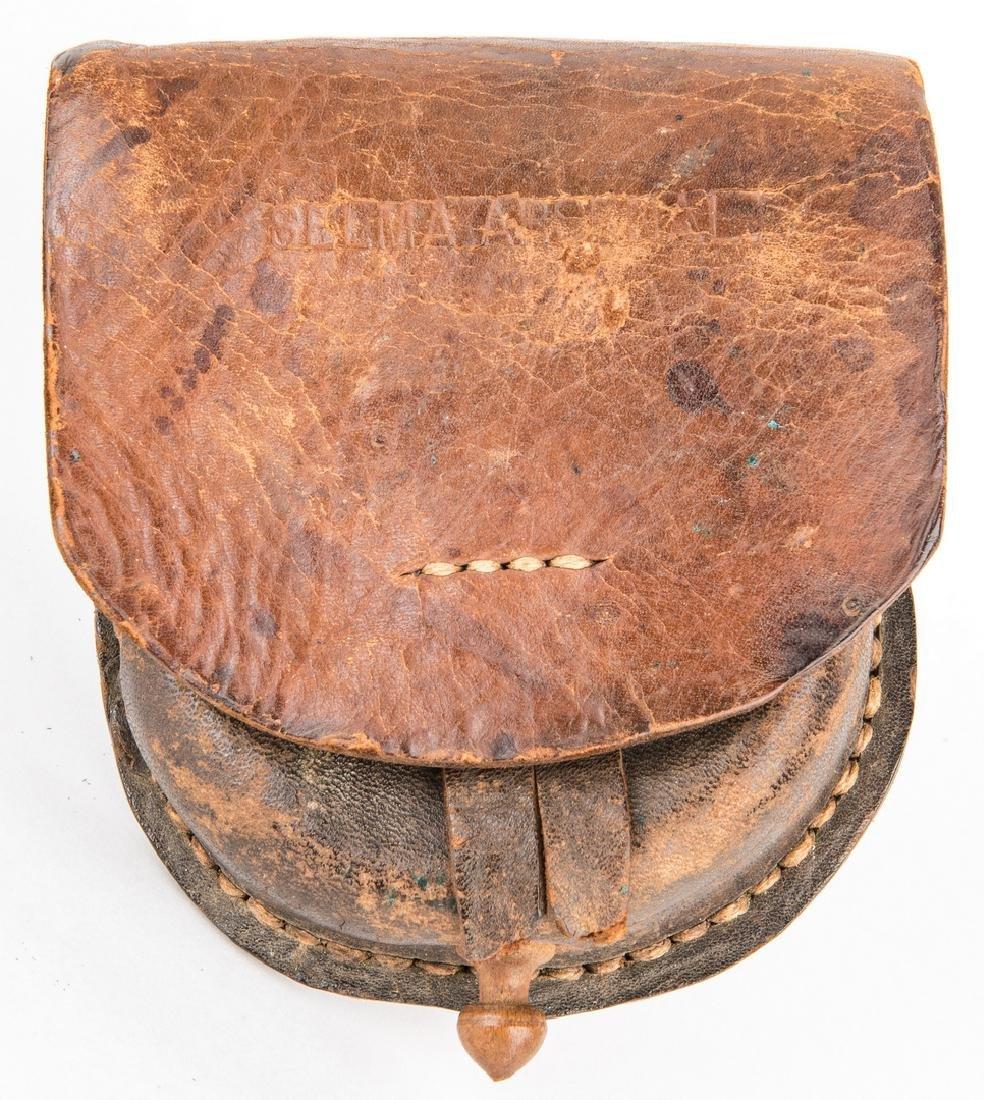 Confederate Selma, AL Arsenal Leather Cap Box
