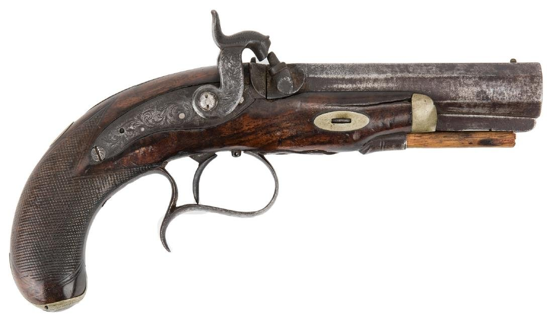 V. Libeau New Orleans Dealer Percussion Pocket Pistol,