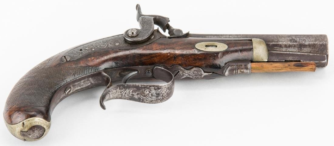 V. Libeau New Orleans Dealer Percussion Pocket Pistol, - 3