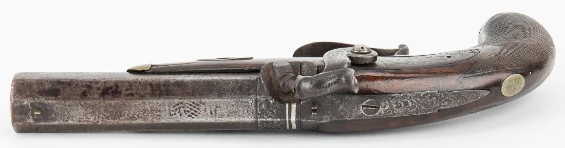 V. Libeau New Orleans Dealer Percussion Pocket Pistol, - 4