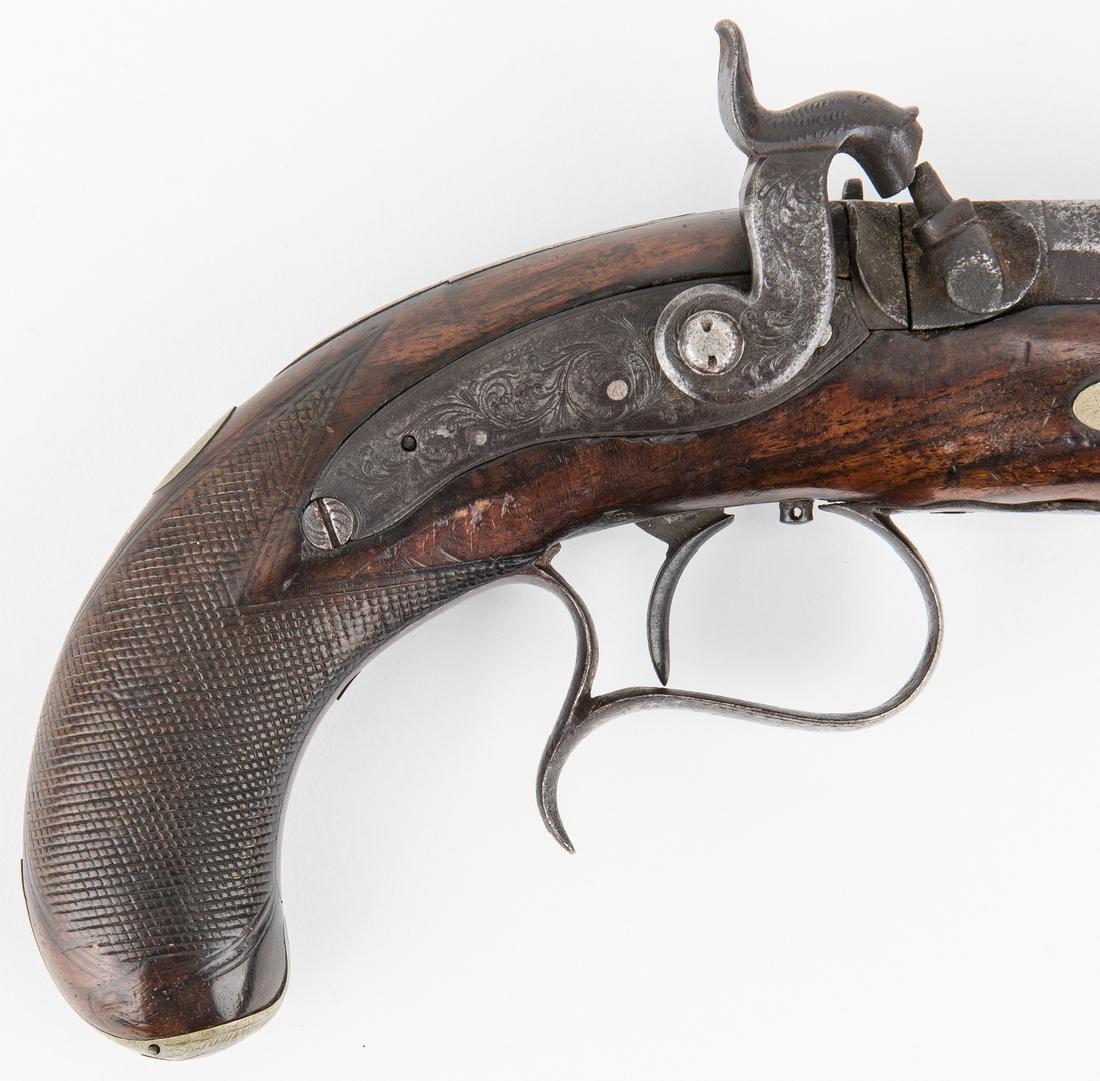V. Libeau New Orleans Dealer Percussion Pocket Pistol, - 6