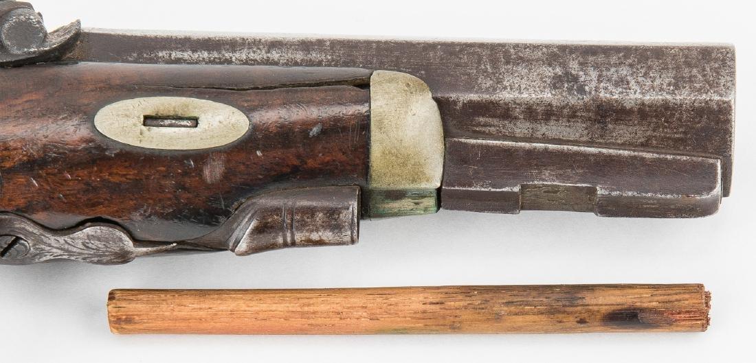 V. Libeau New Orleans Dealer Percussion Pocket Pistol, - 9