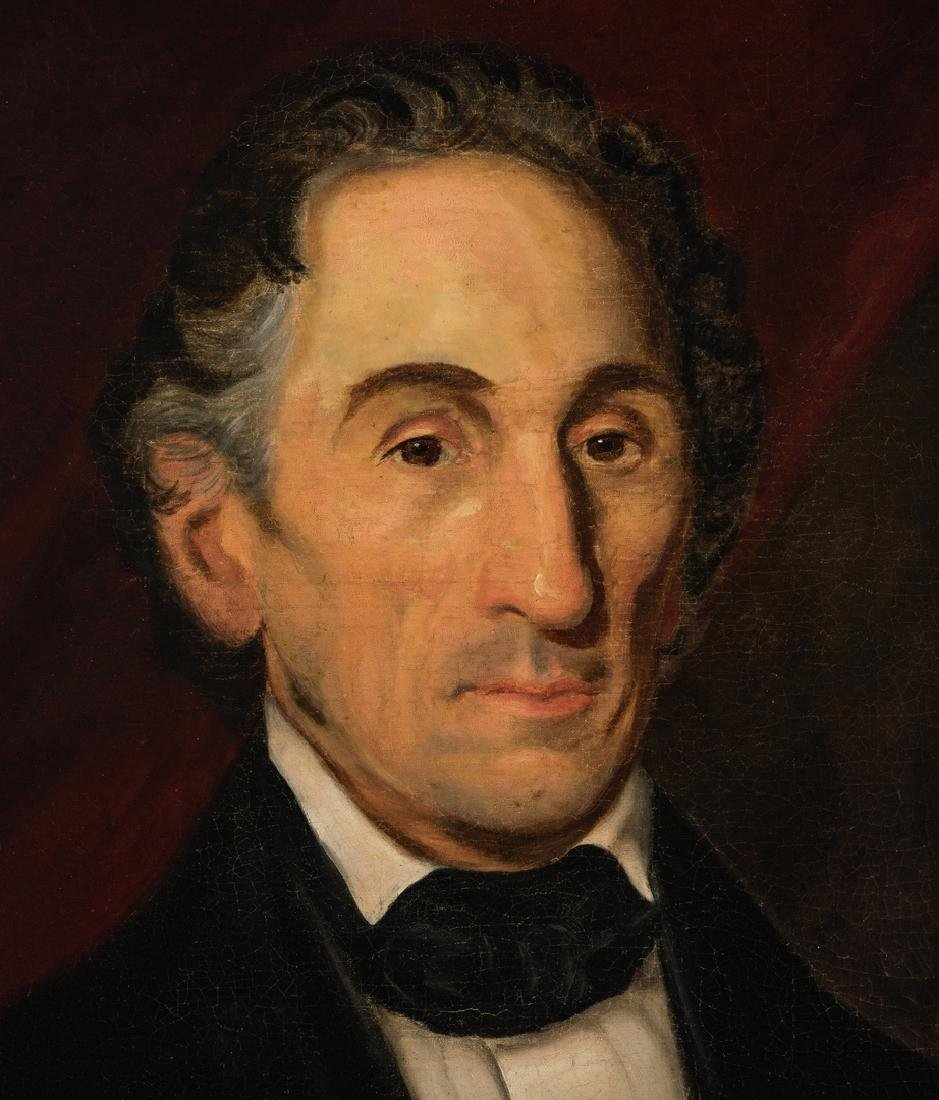 Portrait of a gentleman, poss. Gen. Thomas Gilchrist - 3