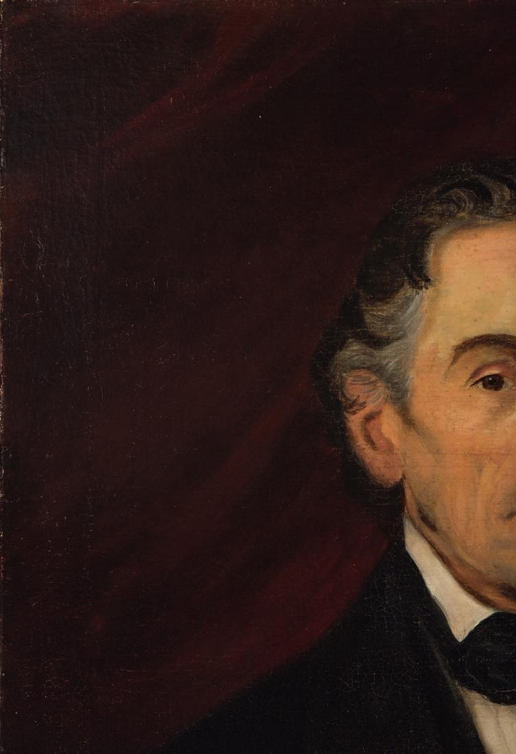 Portrait of a gentleman, poss. Gen. Thomas Gilchrist - 5