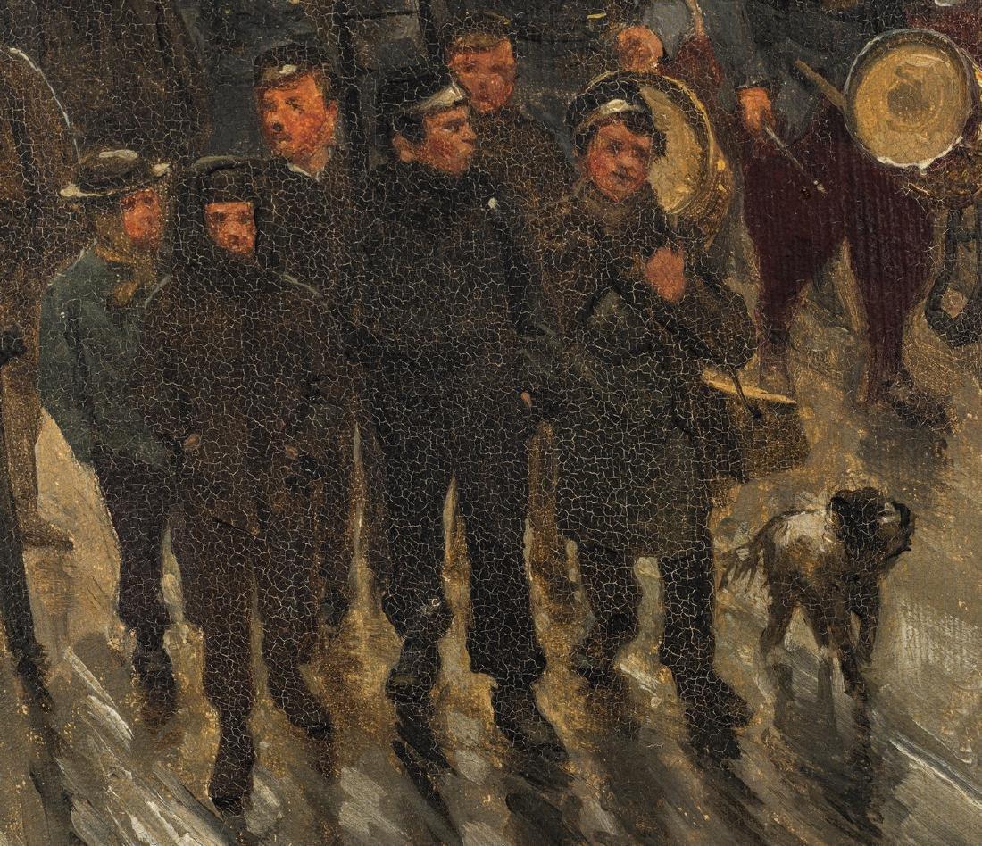 Paul G. Fischer Oil, Military Parade - 10