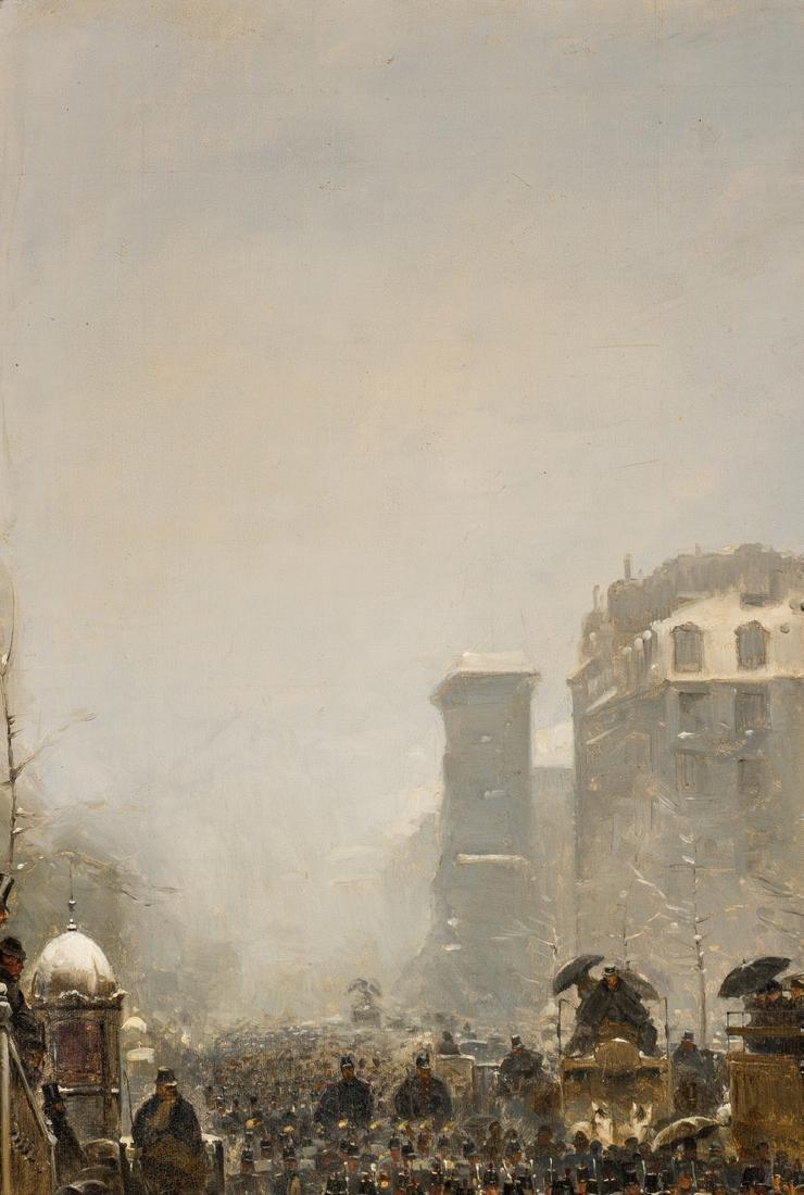 Paul G. Fischer Oil, Military Parade - 4