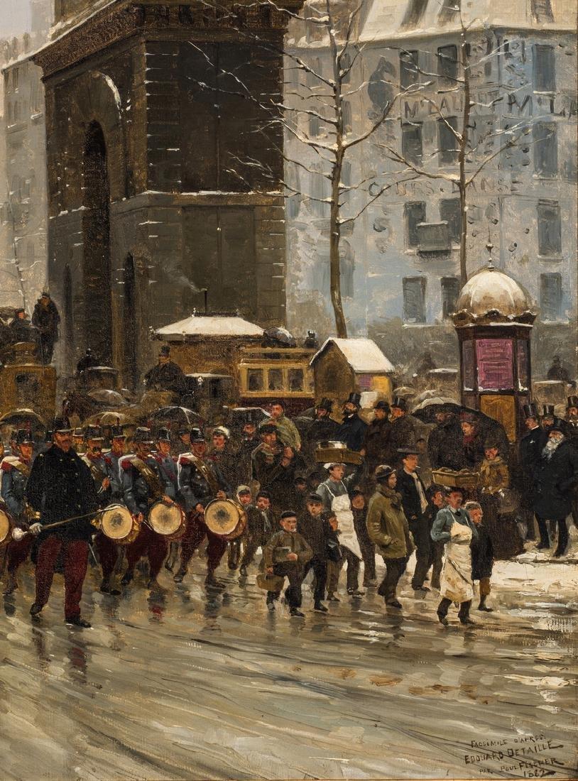 Paul G. Fischer Oil, Military Parade - 7