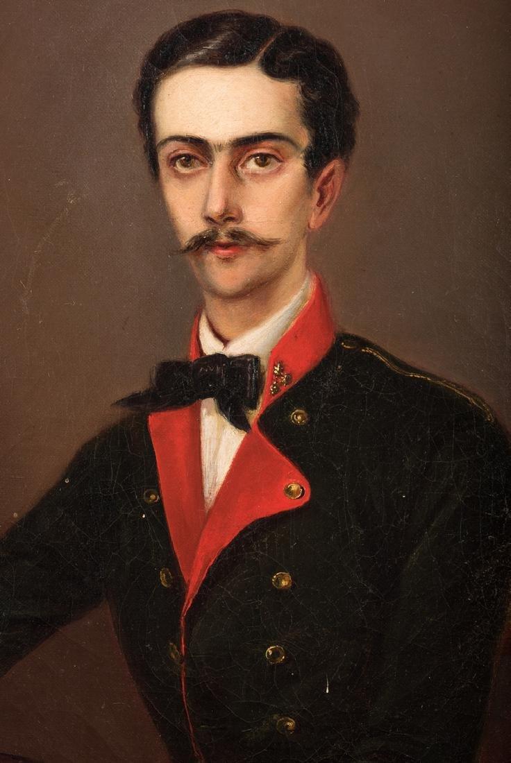 19th C. German Portrait of a Composer - 3