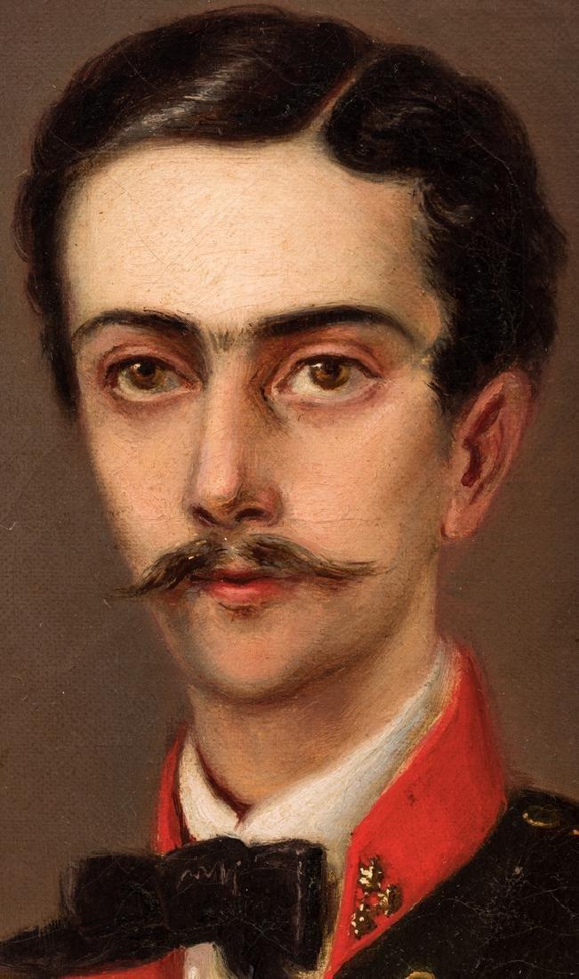 19th C. German Portrait of a Composer - 4