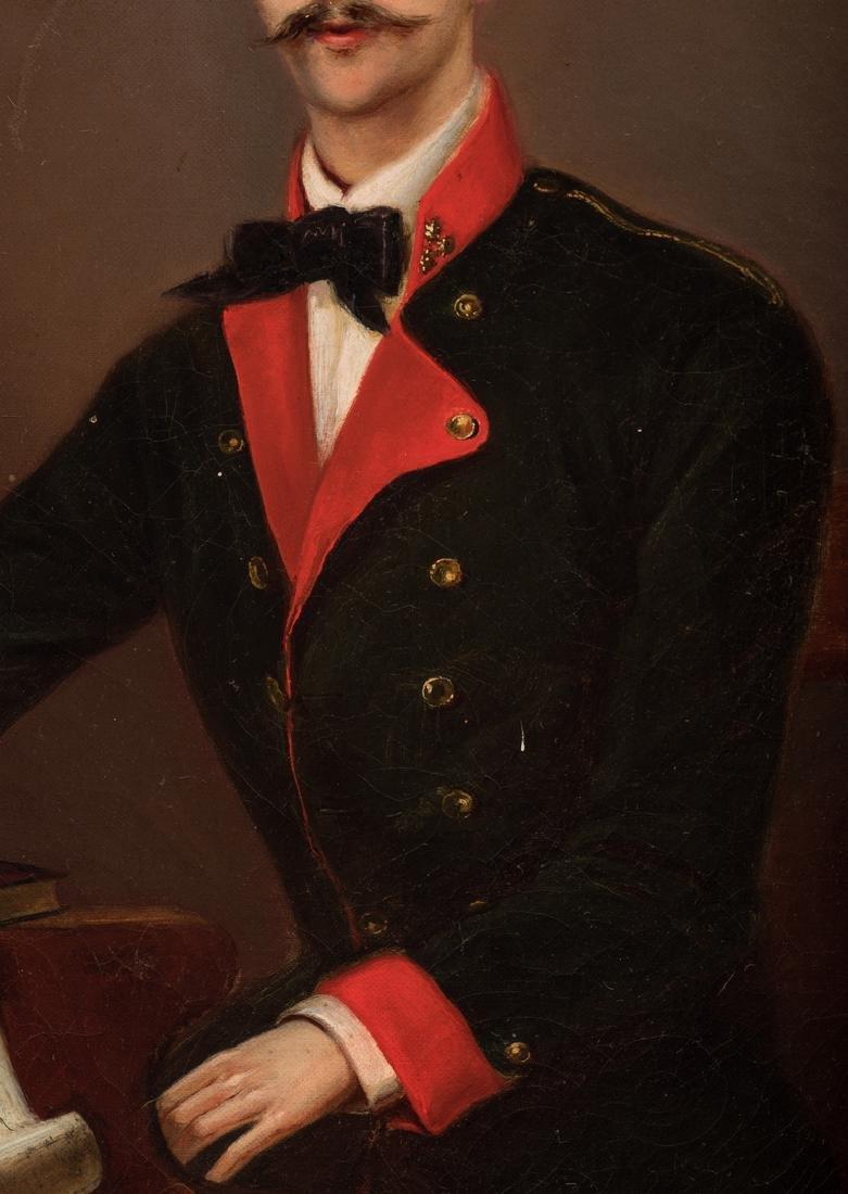 19th C. German Portrait of a Composer - 5