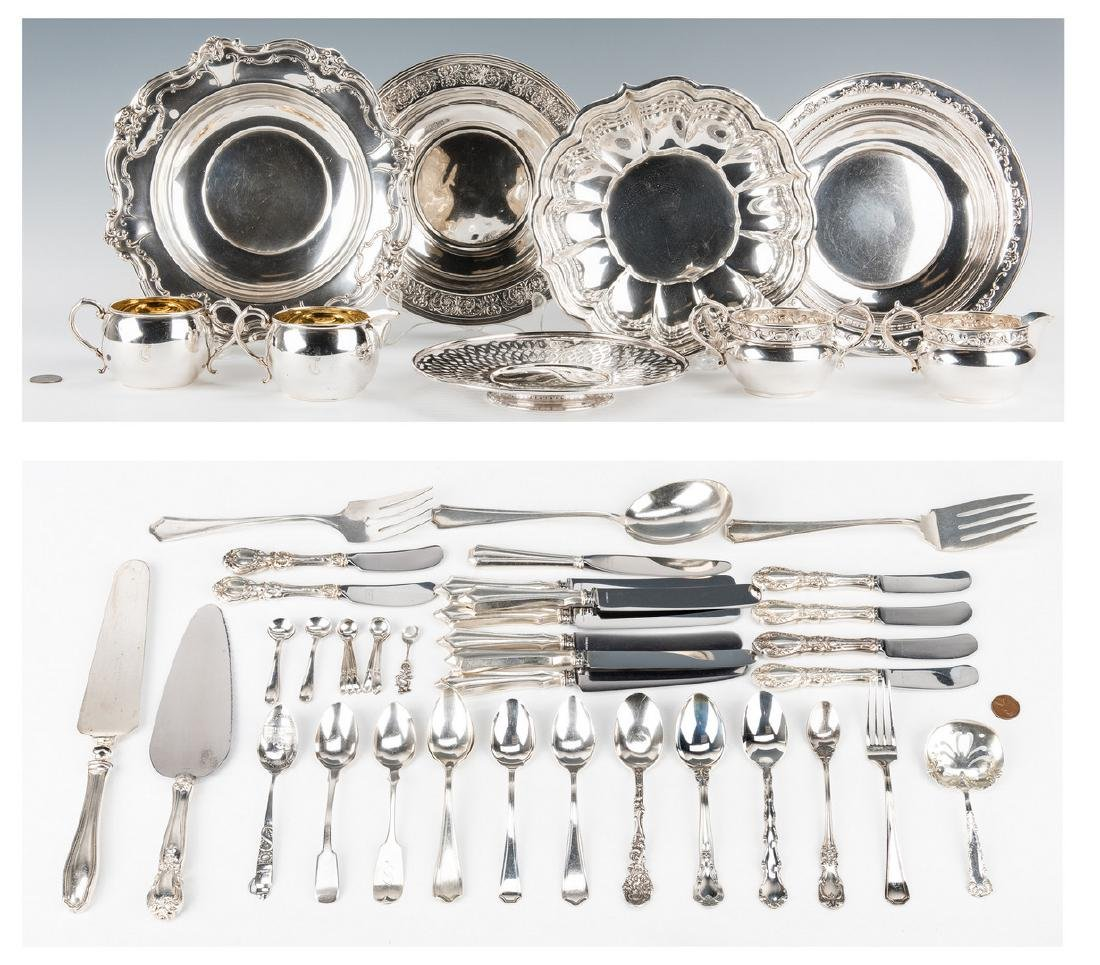 Assorted Sterling Table Items; Flatware