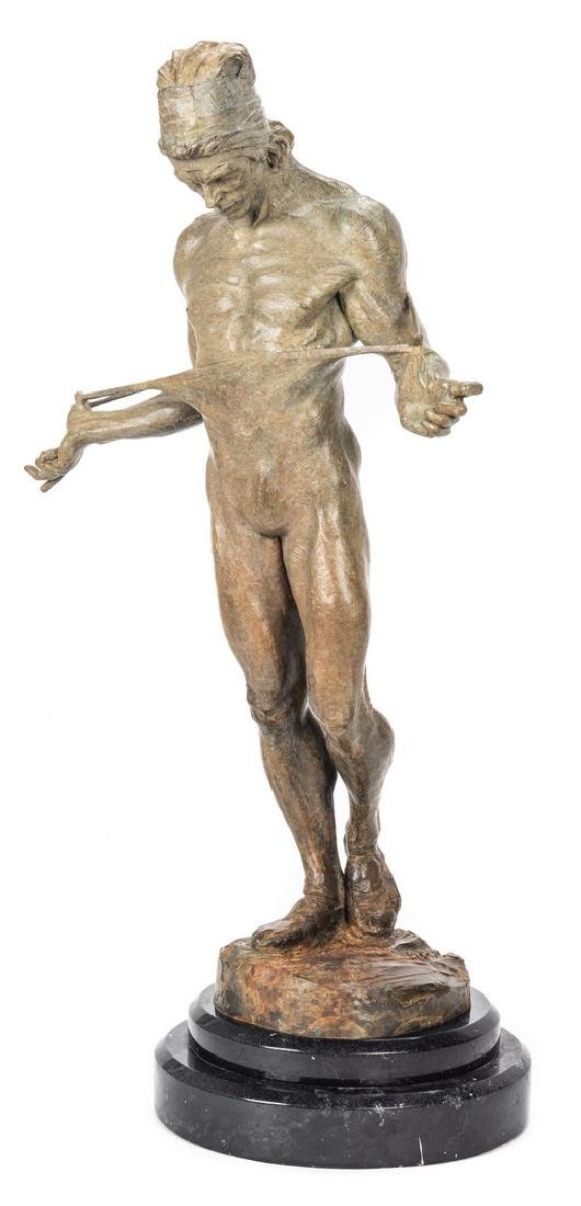 Richard MacDonald Bronze Sculpture, Nureyev - 2