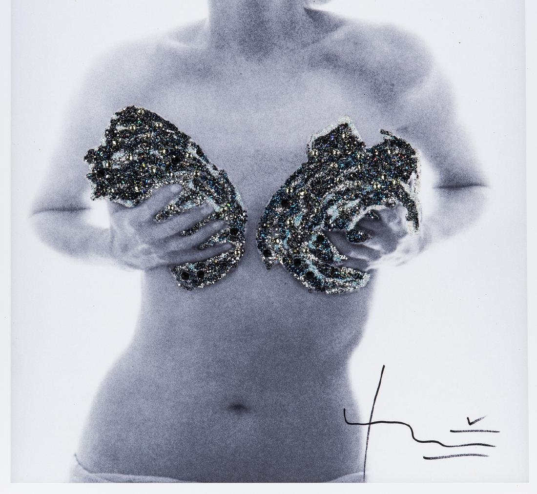 Bert Stern Photograph, Marilyn Monroe Jewelled Roses, - 4