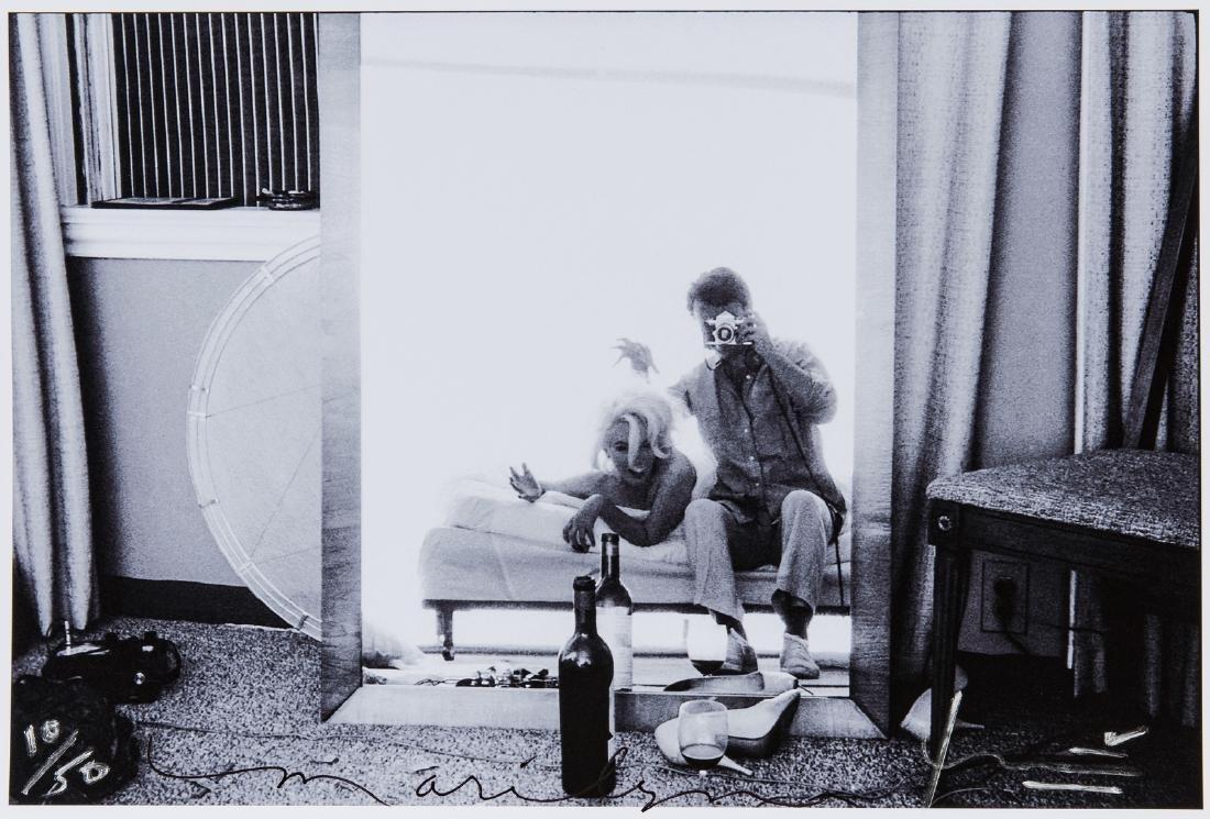 Bert Stern & Marilyn Monroe Self Portrait, Last Sitting