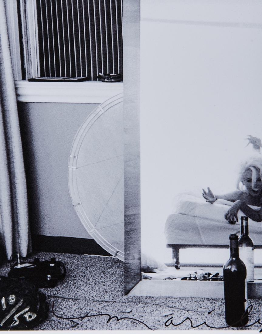 Bert Stern & Marilyn Monroe Self Portrait, Last Sitting - 3