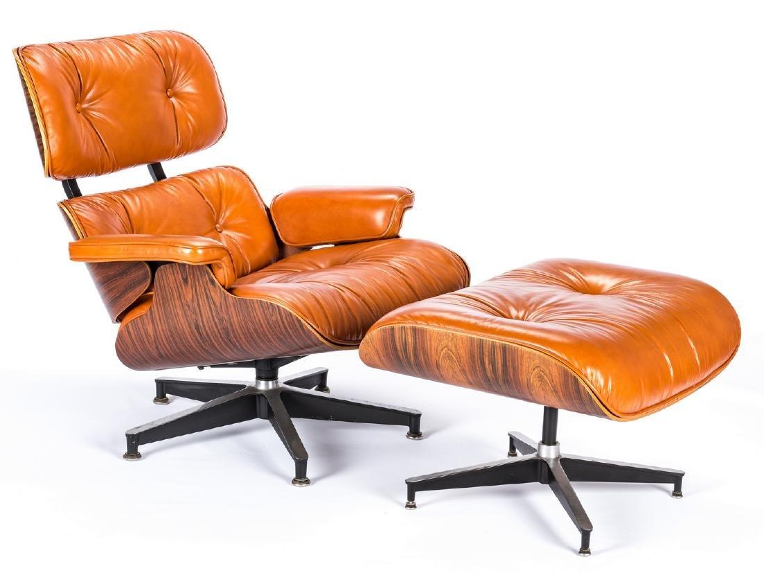 Eames Lounge Chair & Ottoman by Herman Miller - 2