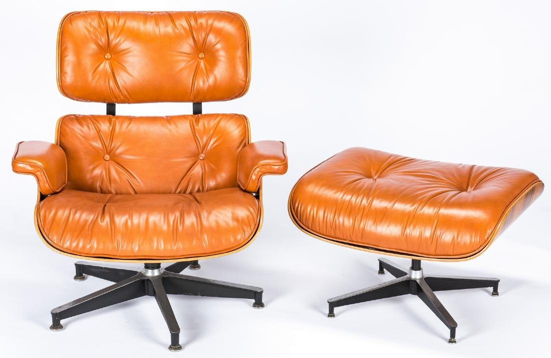 Eames Lounge Chair & Ottoman by Herman Miller - 3