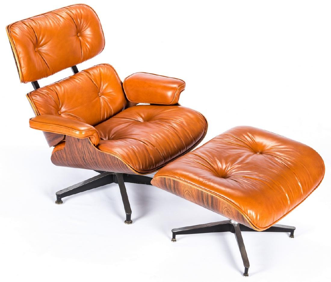 Eames Lounge Chair & Ottoman by Herman Miller - 4
