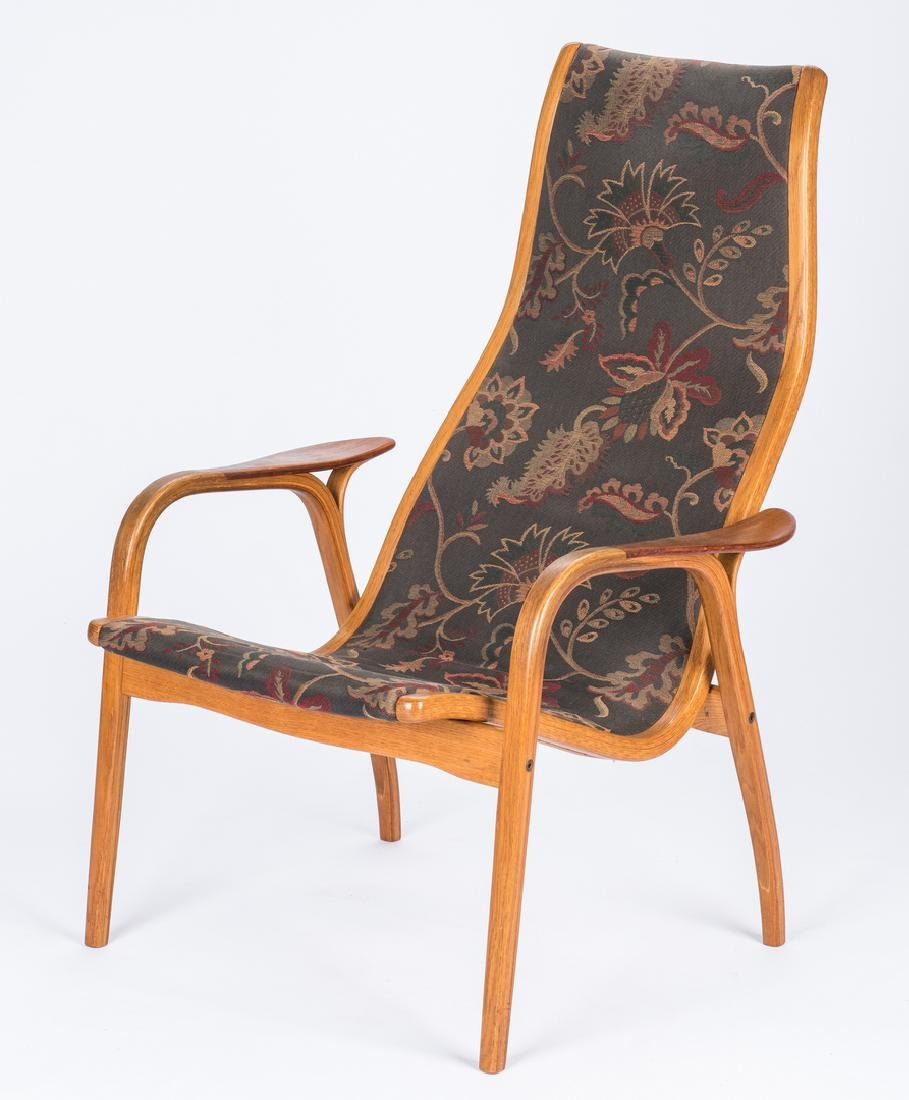 Yngve Ekstrom Lamino Lounge Chair - 3