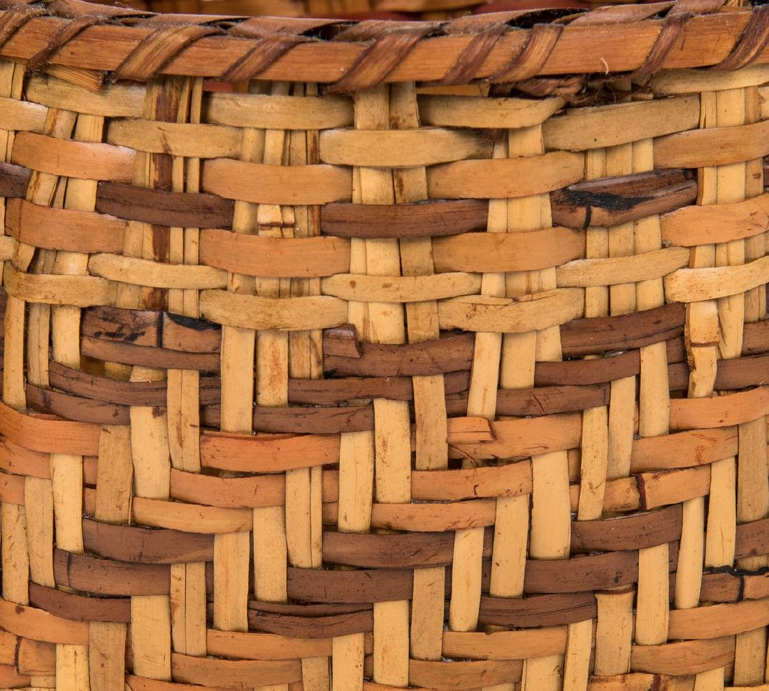 3 Cherokee Rivercane Baskets - 5