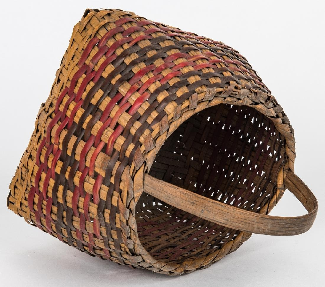 3 Cherokee Rivercane Baskets - 6