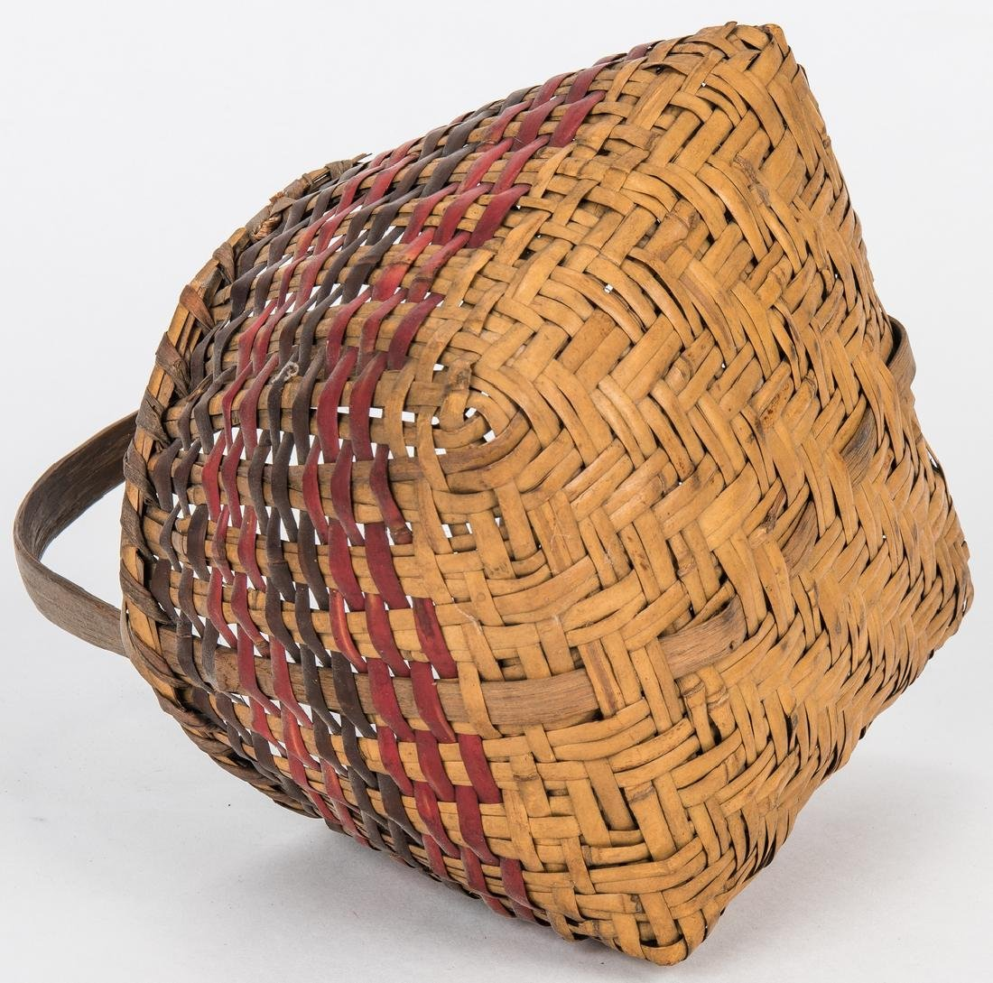 3 Cherokee Rivercane Baskets - 7