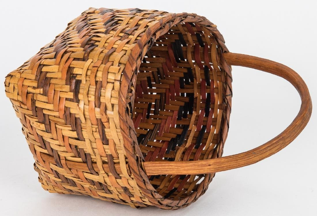 3 Cherokee Rivercane Baskets - 8