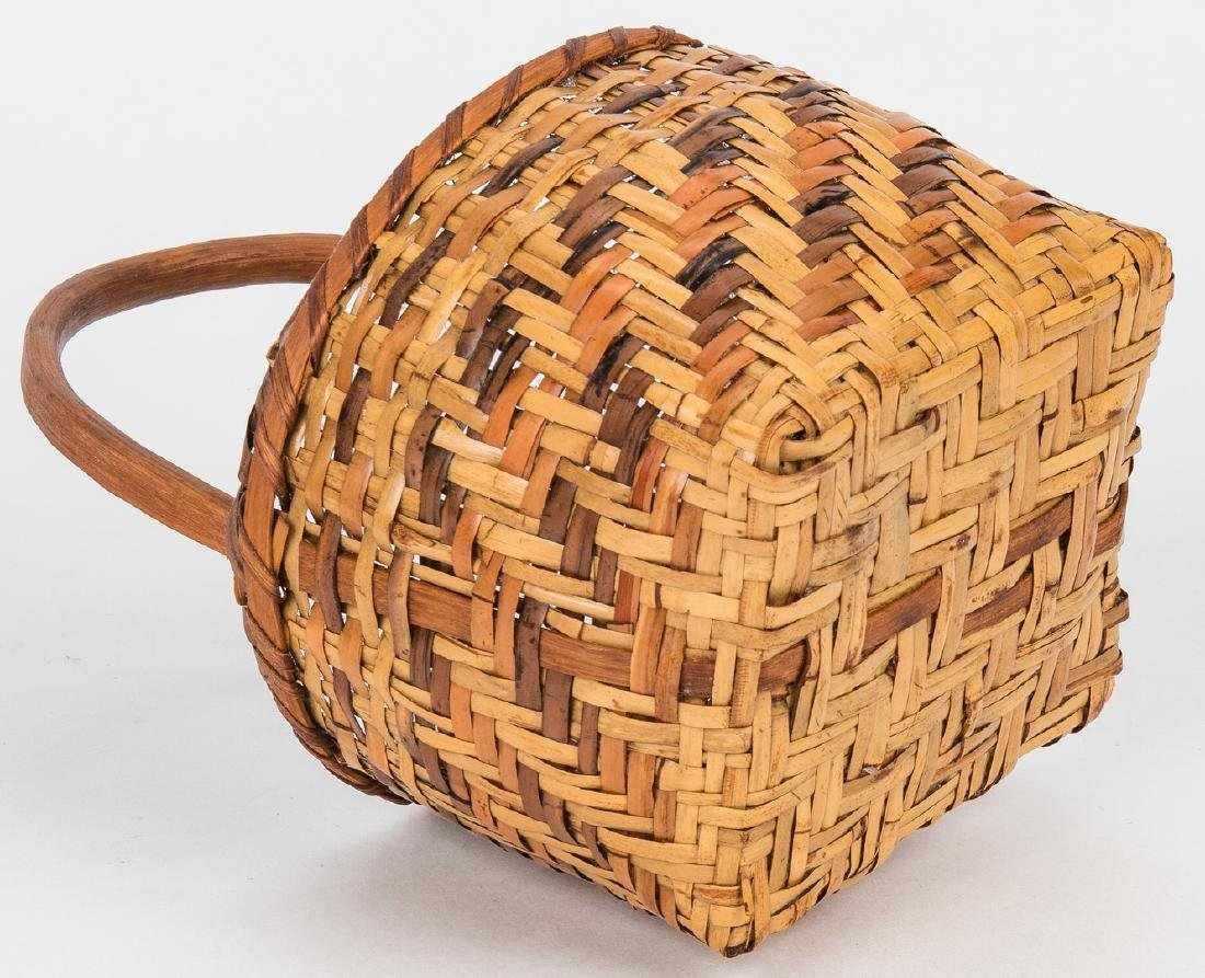 3 Cherokee Rivercane Baskets - 9