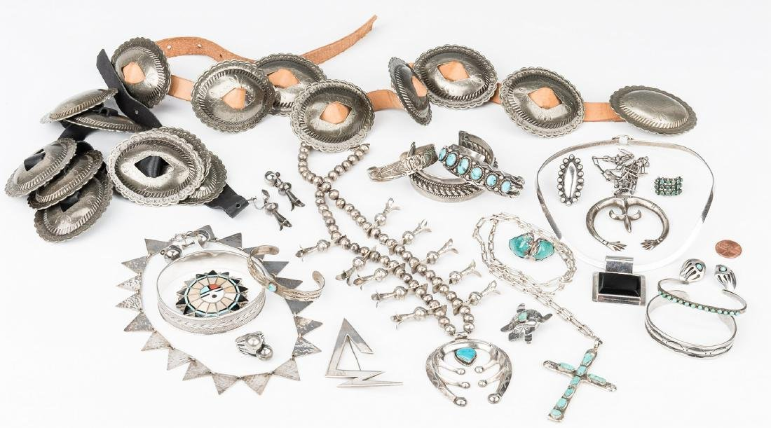 Group of Southwestern & other jewelry