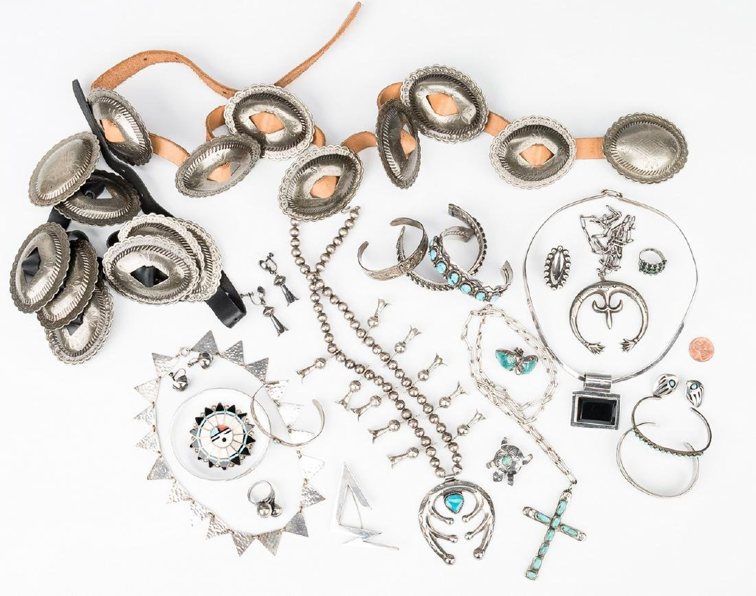 Group of Southwestern & other jewelry - 2