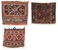 Group 3 Antique Persian Bag Faces