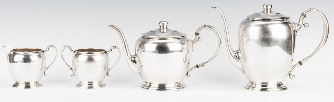 4 pc Manchester Sterling Coffee/Tea Set
