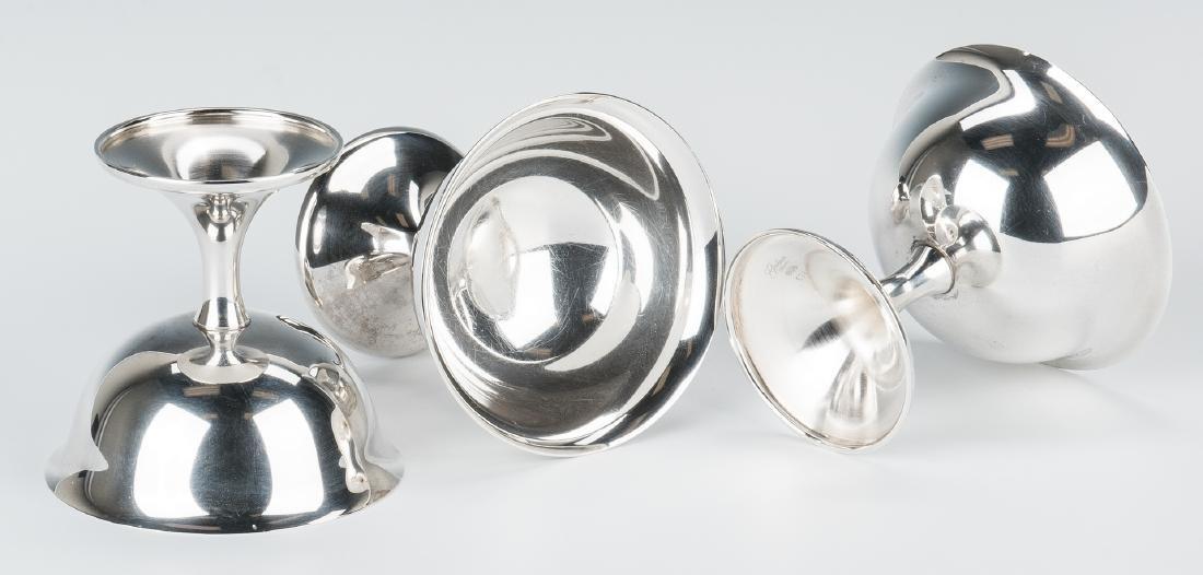 12 Gorham Sterling Sherbet Goblets - 6
