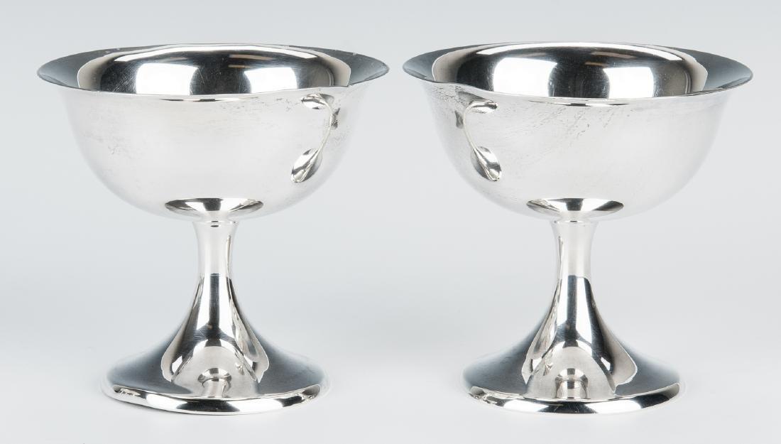 12 Gorham Sterling Sherbet Goblets - 7