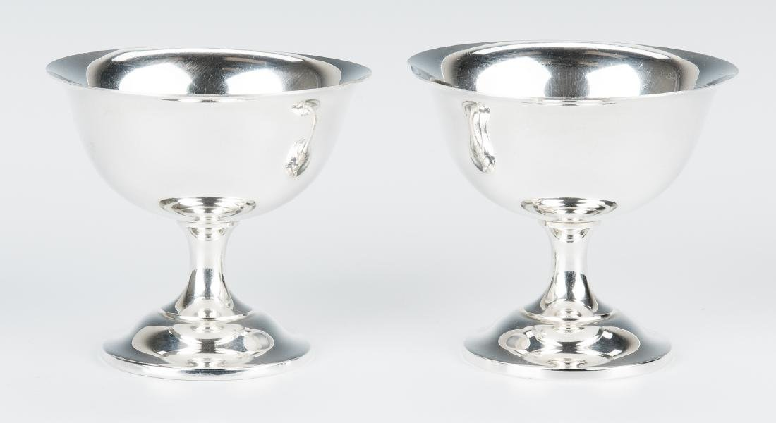 12 Wallace Sterling Silver Sherbets - 5