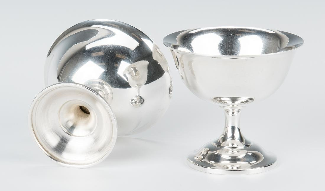 12 Wallace Sterling Silver Sherbets - 8