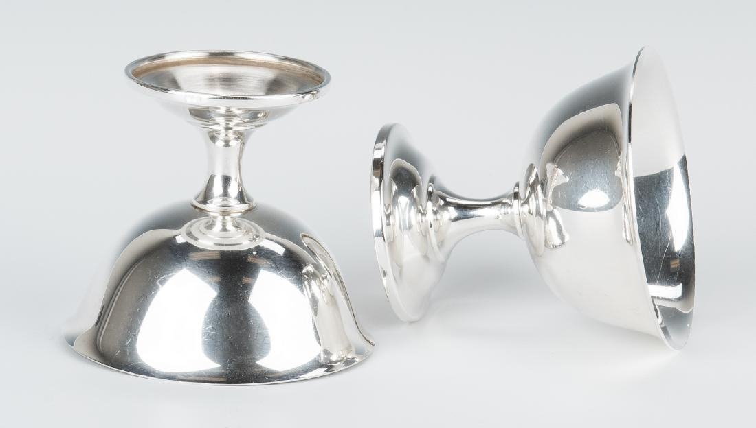 12 Wallace Sterling Silver Sherbets - 9