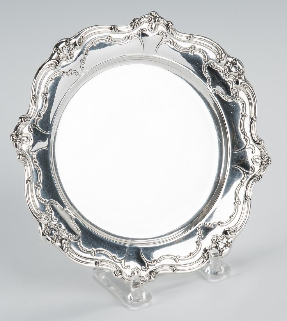 13 Gorham Sterling Chantilly Bread & Butter Plates - 3