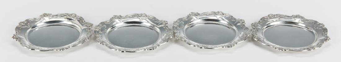 13 Gorham Sterling Chantilly Bread & Butter Plates - 4