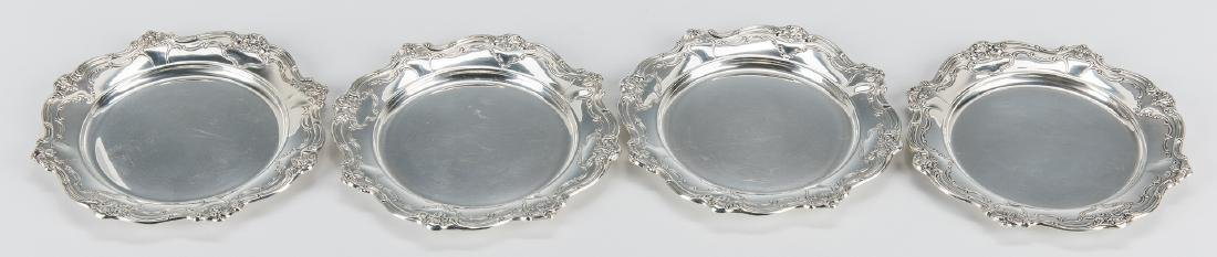 13 Gorham Sterling Chantilly Bread & Butter Plates - 5