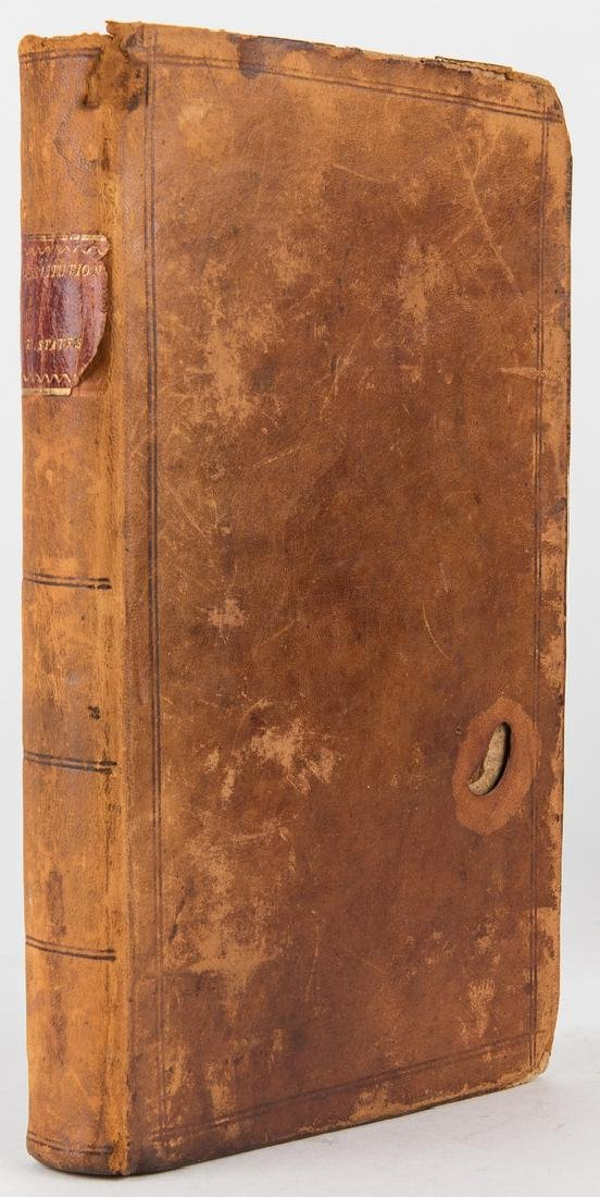 5 Abram Maury Owned Books, incl. Declaration of - 10