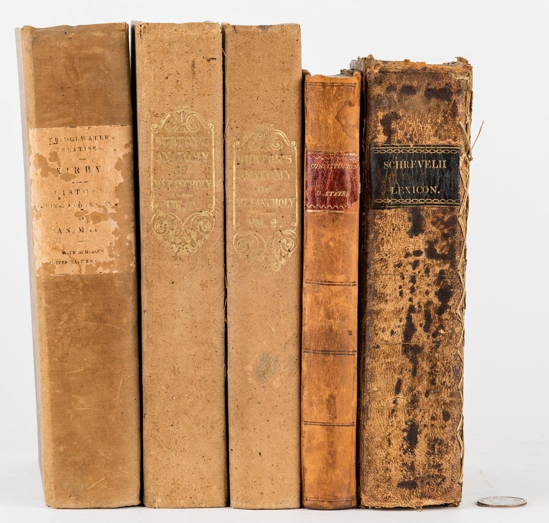 5 Abram Maury Owned Books, incl. Declaration of - 2