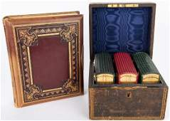 4 Victorian Albums w/ 240 Photographs: India, Wales,