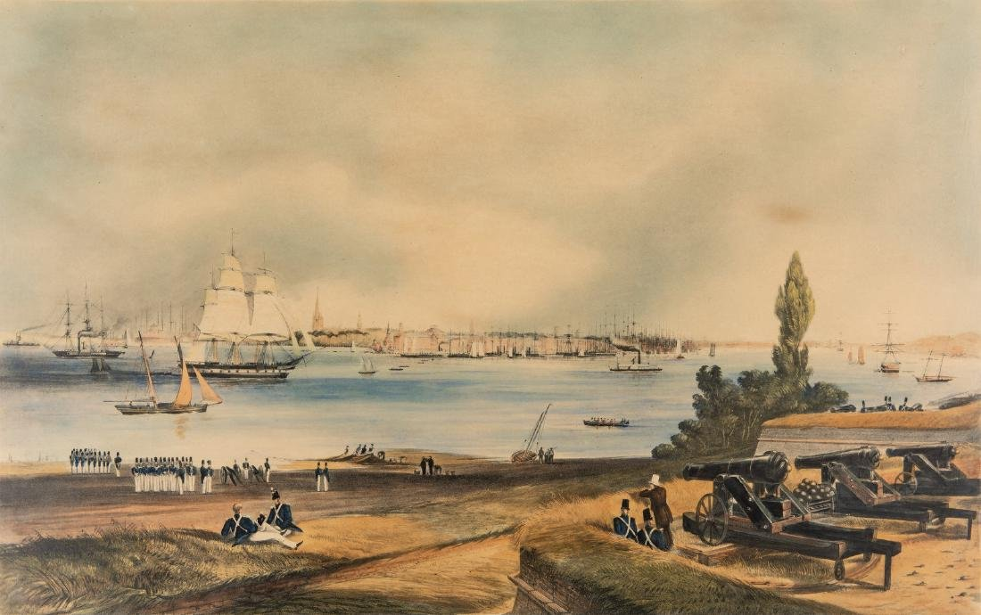 New York: View from Fort Columbus, Governors Island - 3