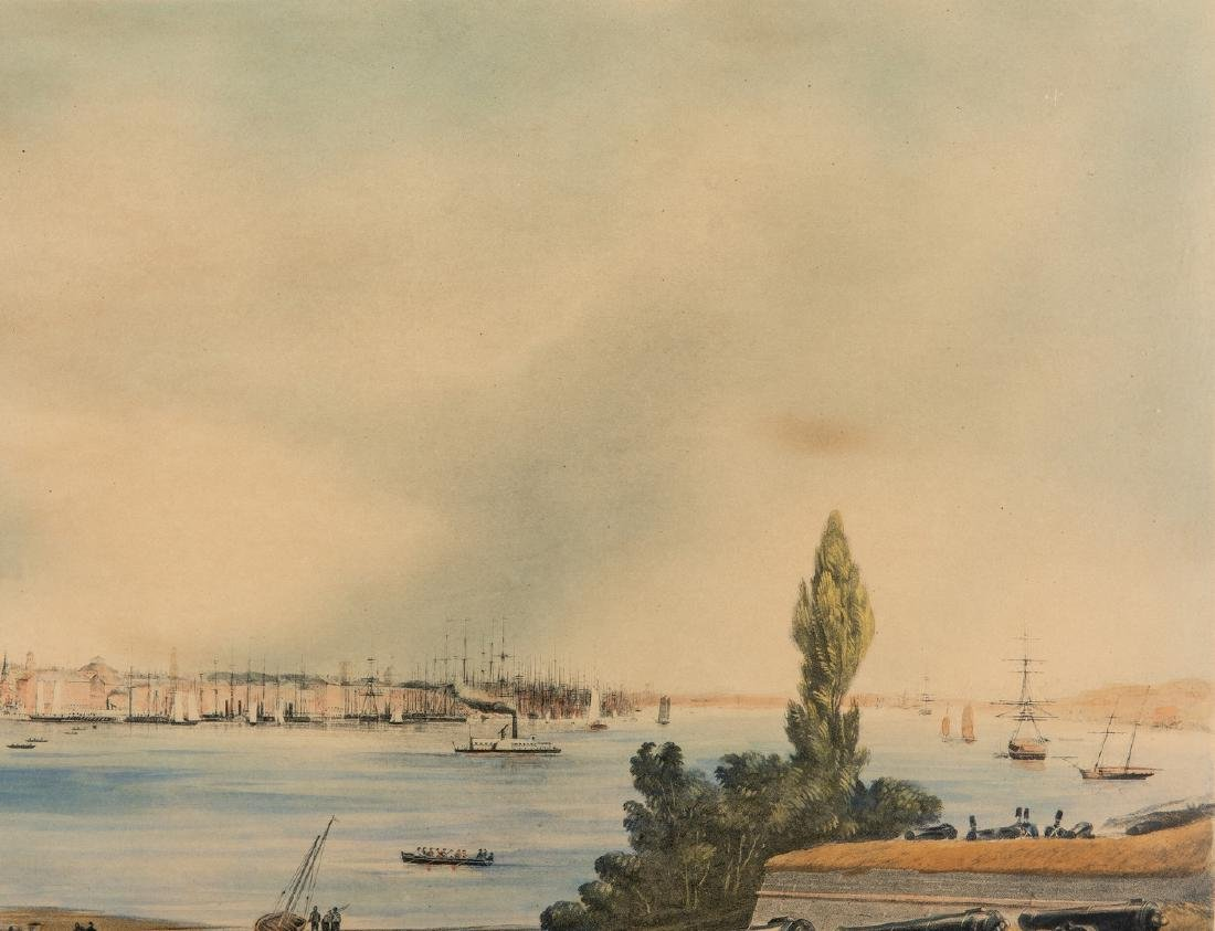 New York: View from Fort Columbus, Governors Island - 5