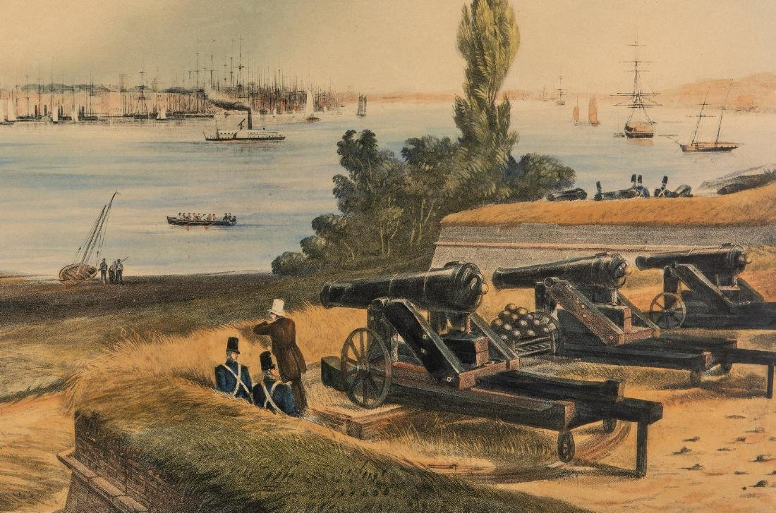New York: View from Fort Columbus, Governors Island - 7