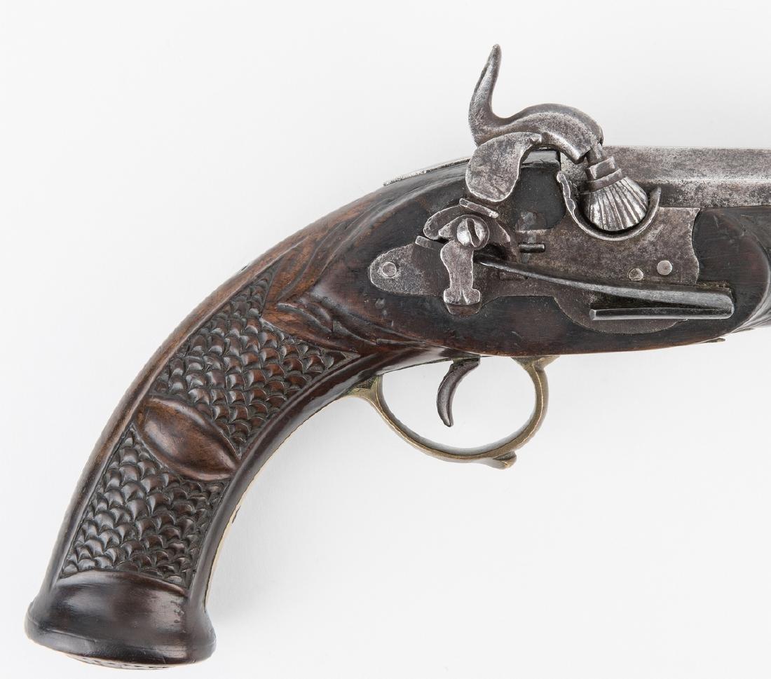 Portuguese Miquelet Lock Percussion pistol, .72 cal. - 3