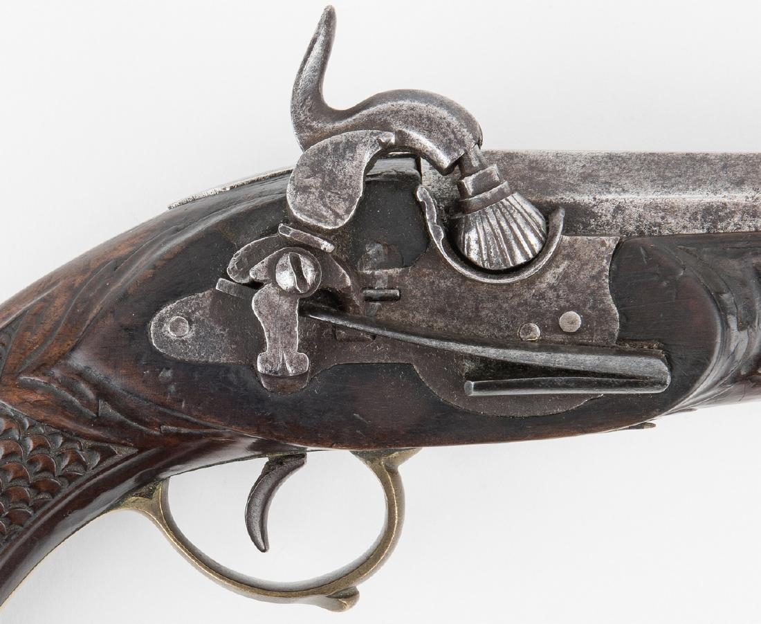 Portuguese Miquelet Lock Percussion pistol, .72 cal. - 4