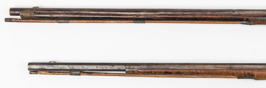 2 Kentucky Percussion Long Rifles - 2