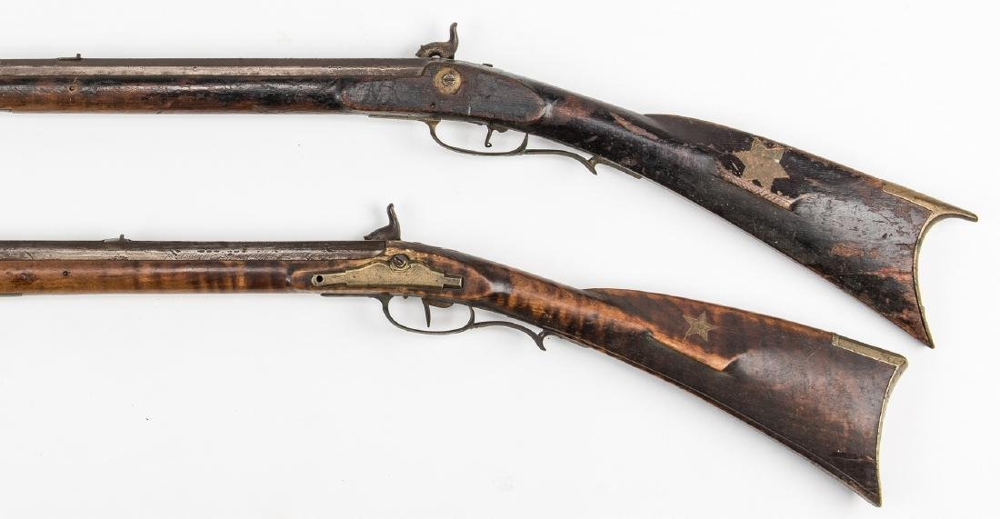2 Kentucky Percussion Long Rifles - 3